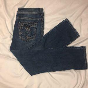 W27 Pioneer Silver Jeans